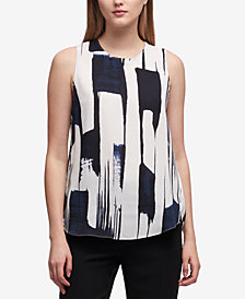DKNY Printed Top, Created for Macy's