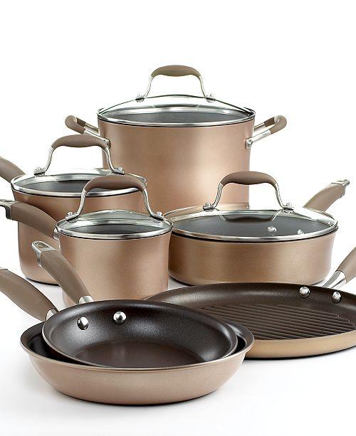 Anolon Advanced Bronze Nonstick 11 Piece Cookware Set