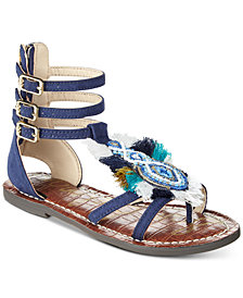 Sam Edelman Gigi Giselle Fray Sandals, Little Girls & Big Girls