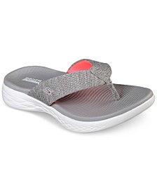 Women's On The Go 600 - Preferred Athletic Thong Flip Flop Sandals from Finish Line