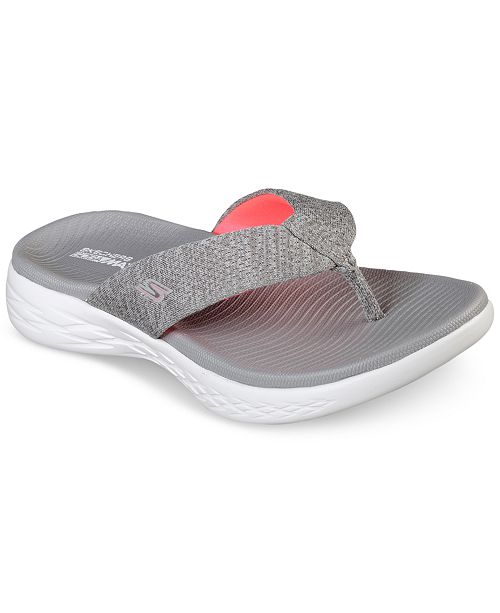 0f3a70a4e35b ... Skechers Women s On The Go 600 - Preferred Athletic Thong Flip Flop  Sandals from Finish ...