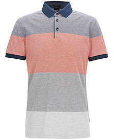 BOSS Men's Regular/Classic-Fit Cotton Piqué Polo