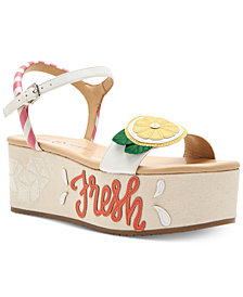 Katy Perry Carolynn Lemonade Flatform Sandals