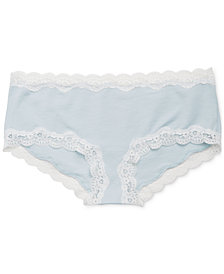 A Pea In The Pod Maternity Lace-Trim Briefs