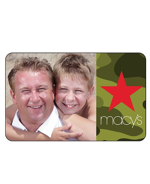 Macy's Millennial Gift Card with Greeting Card