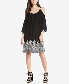 Karen Kane Cold-Shoulder Shift Dress
