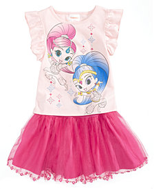 Nickelodeon 2-Pc. Shimmer and Shine T-Shirt & Scooter Skirt Set, Toddler Girls