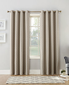 "Sun Zero Maritza 52"" x 63"" Theater Grade Extreme Blackout Grommet Curtain Panel"