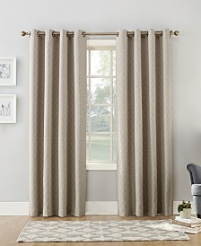 "Sun Zero Maritza 52"" x 84"" Theater Grade Extreme Blackout Grommet Curtain Panel"