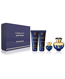 Versace Dylan Blue Pour Femme 4-Pc. Gift Set, Created for Macy's