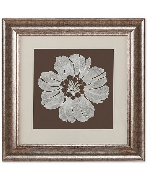 JLA Home Harbor House Floral Decorative Embroidered Flower 23\
