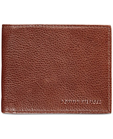 Tommy Hilfiger Men's York Leather Billfold Wallet