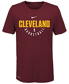 Nike Cleveland Cavaliers Elite Practice T-Shirt, Big Boys (8-20)