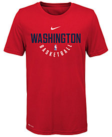 Nike Washington Wizards Elite Practice T-Shirt, Big Boys (8-20)