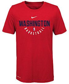 Nike Washington Wizards Elite Practice T-Shirt, Big Boys (8-20)