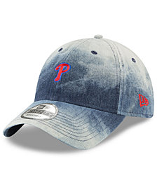 New Era Philadelphia Phillies Denim Wash Out 9TWENTY Cap