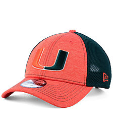 New Era Miami Hurricanes Shadow Turn 9FORTY Cap