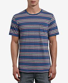 Volcom Men's Striped T-Shirt