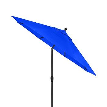 Highland Outdoor 9' Auto-Tilt Umbrella with Sunbrella Fabric