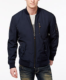 Supderdry Men's SDR Wax Flight Bomber Jacket