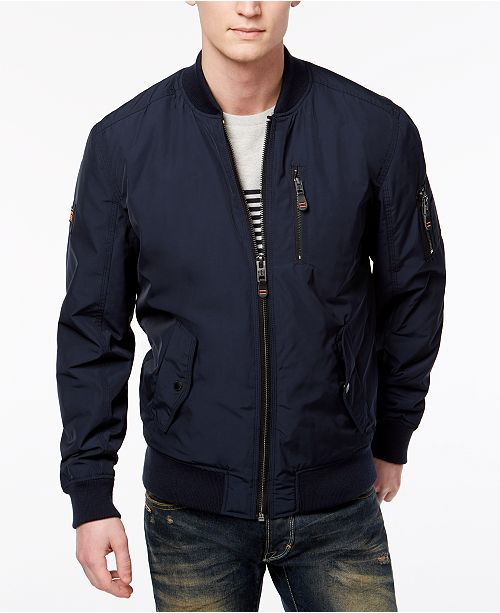 b9d272239cf Superdry Supderdry Men s SDR Wax Flight Bomber Jacket   Reviews ...