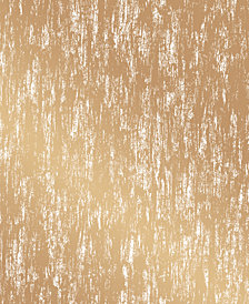 Cynthia Rowley for Tempaper Gold Leaf Gold Self-Adhesive Wallpaper