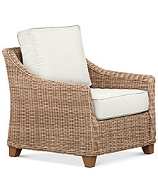 Willough Outdoor Club Chair, Created for Macy's