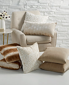 Hallmart Collectibles Beige Decorative Pillow Collection