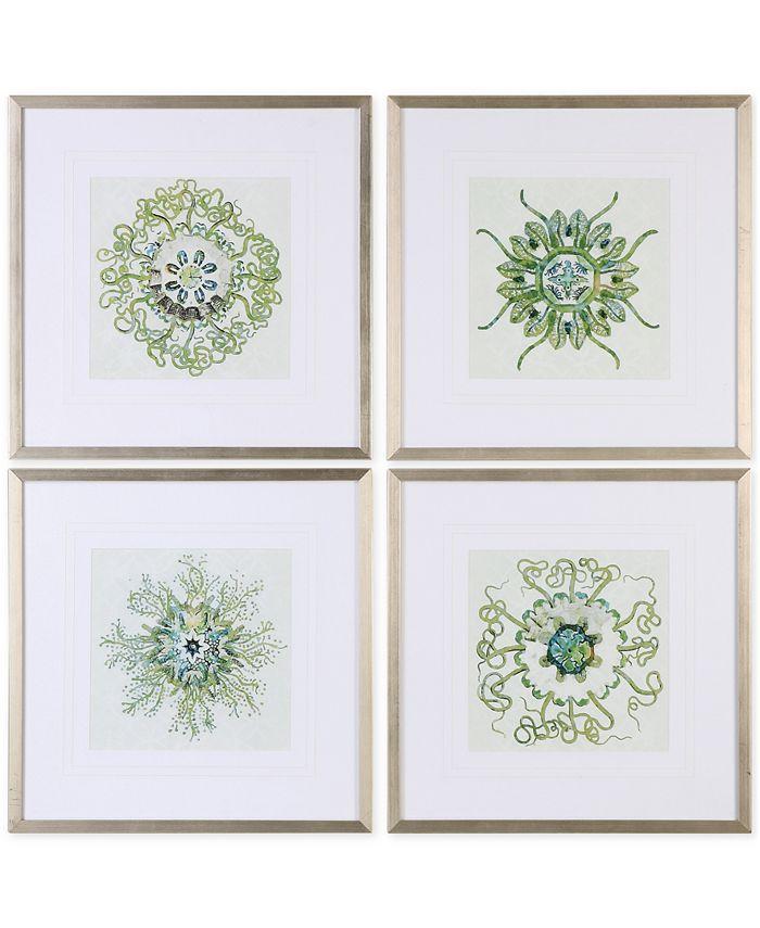 Uttermost - Organic Symbols Wall Art, Set of 4