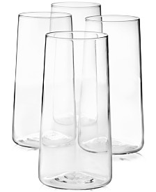 Lucky Brand Highball Glasses, Set of 4, Created for Macy's