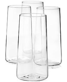 Lucky Brand Highball Glasses, Set of 4, Created for Macy's