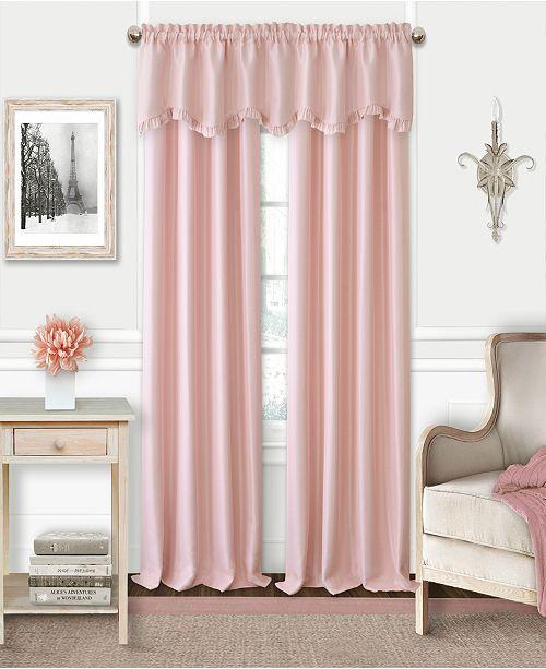 Faux Silk Rod Pocket Curtain