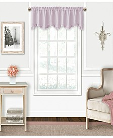 "Kids' Adaline 52"" x 15"" Faux-Silk Rod Pocket Curtain Valance"