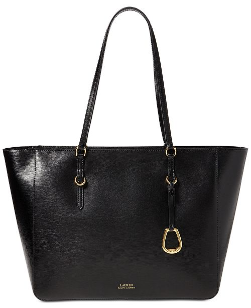c283ff46d46 Lauren Ralph Lauren Bennington Leather Tote & Reviews - Handbags ...