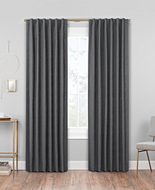 Hudson Hill Chenille Rod Pocket/Tab Top Window Panels