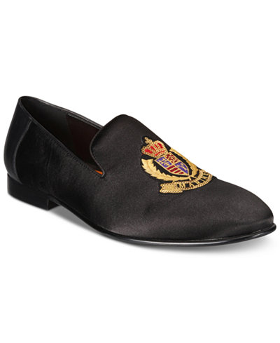 Tallia Men's Enrico Royal Smoking Loafers