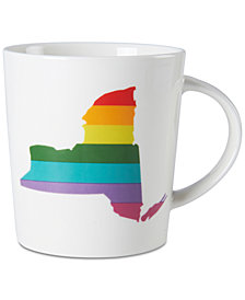 Pfaltzgraff NY Rainbow Mug, Created for Macy's