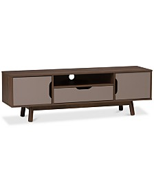 Britta TV Stand, Quick Ship
