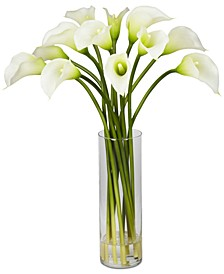 Mini Calla Lily Flower Arrangement