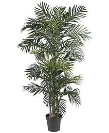 Nearly Natural 6.5' Golden Cane Palm Tree