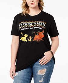Disney Plus Size Cotton Lion King T-Shirt