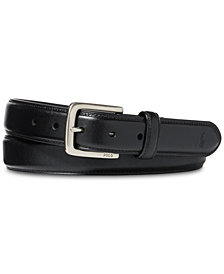 Polo Ralph Lauren Men's Big & Tall Suffield Leather Belt