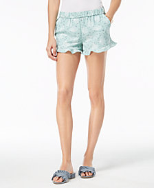 Maison Jules Ruffled-Cuff Shorts, Created for Macy's