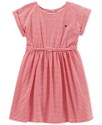 Carter's Striped Cut-Out Dress, Little & Big Girls