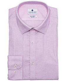 Ryan Seacrest Distinction™ Men's Ultimate Slim-Fit Non-Iron Performance Stretch Rose Dobby Dress Shirt, Created for Macy's