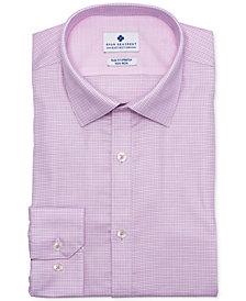 Ryan Seacrest Distinction™ Men's Ultimate Slim-Fit Non-Iron Performance Stretch Rose Dobby Dress Shirt, Created for Macy's