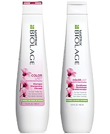Matrix Biolage ColorLast Shampoo & Conditioner (Two Items), 13.5-oz., from PUREBEAUTY Salon & Spa