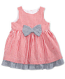Marmellata Gingham Cotton Sundress, Baby Girls