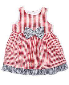 Marmellata Gingham Cotton Sundress, Baby Girls