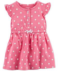 Carter's Baby Girls Dot-Print Cotton Sundress